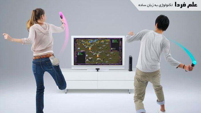 بازی با دسته موو move پلی استیشن 3