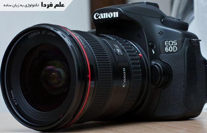 دوربین canon 60D