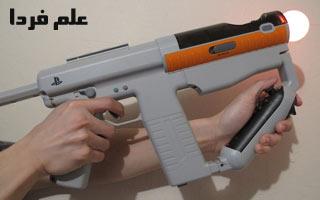 تیراندازی ماهرانه با تفنگ playstation