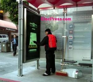 یاهو در ایستگاه اتوبوس ویدیو گیم نصب می کند