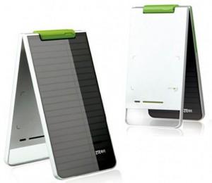 گوشی موبایل خورشیدی