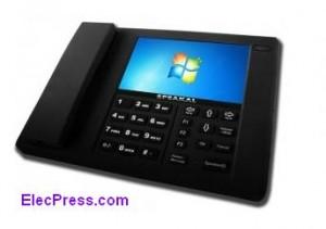تلفن رومیزی با سیستم عامل ویندوز 7