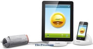 اندازه گیری فشار خون با iPhone, iPod touch،iPad