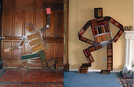 مرد کتابخانه ای
