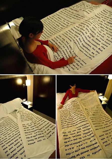 تخت خواب روزنامه ای
