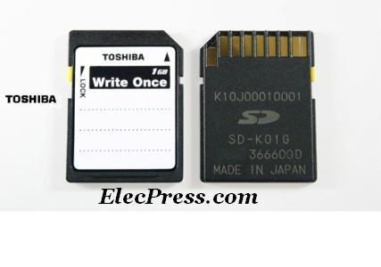 کارت حافظه یکبار مصرف