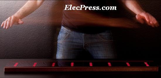 پیانو با سنسور تشخیص حرکت دست