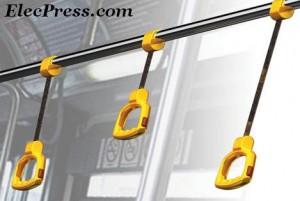 دستگیره قابل تنظیم برای وسایل نقلیه عمومی