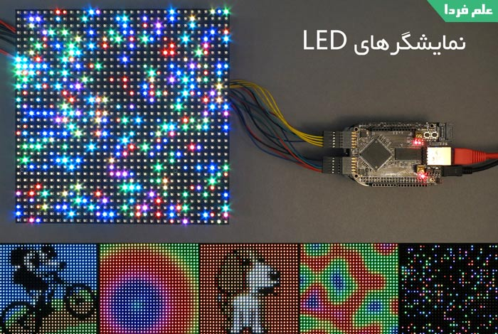 نمایشگر LED