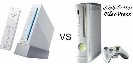 مقایسه نینتندو وی با ایکس باکس 360