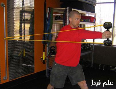 ورزش با دمبل