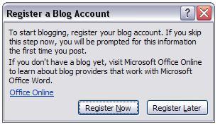 ثبت یک بلاگ جدید