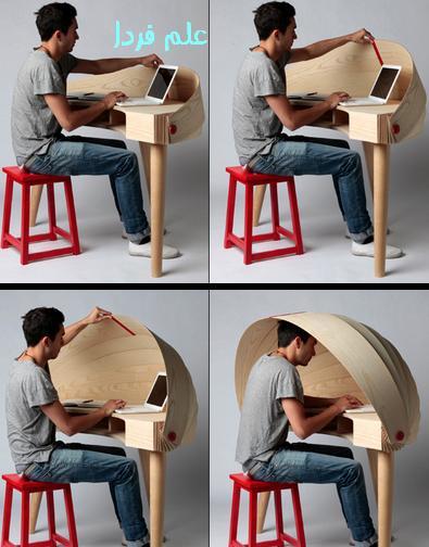 طراحی مدرن میز مطالعه