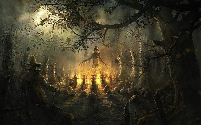 مراسم هالووین چیست ؟