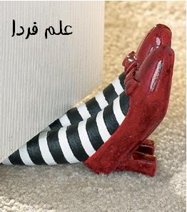 Ruby Slippers DoorStop