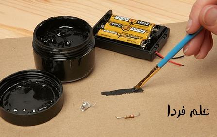 طراحی مدارهای الکترونیکی با جوهر آبرنگ