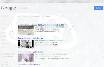 google-letitsnow