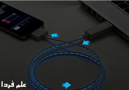 سيم شارژر با لامپ LED