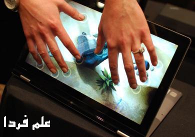 صفحه نمایش لمسی در اولترابوک ها