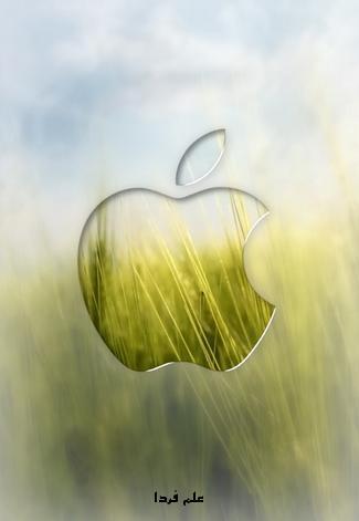 والپیپر لوگوی اپل برای آیفون