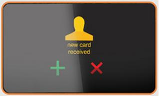 Digital visit card in the future