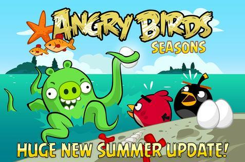 آپديت تابستاني بازي پرندگان خشمگين