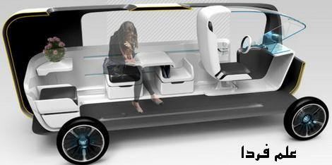 طراحی داخلی اتومبیل cubie