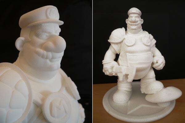 چاپ 3 بعدی ماریو با پرینتر 3 بعدی