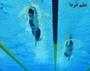 دوربین های زیر آبی در المپیک لندن برای عکس گرفتن از شناگران