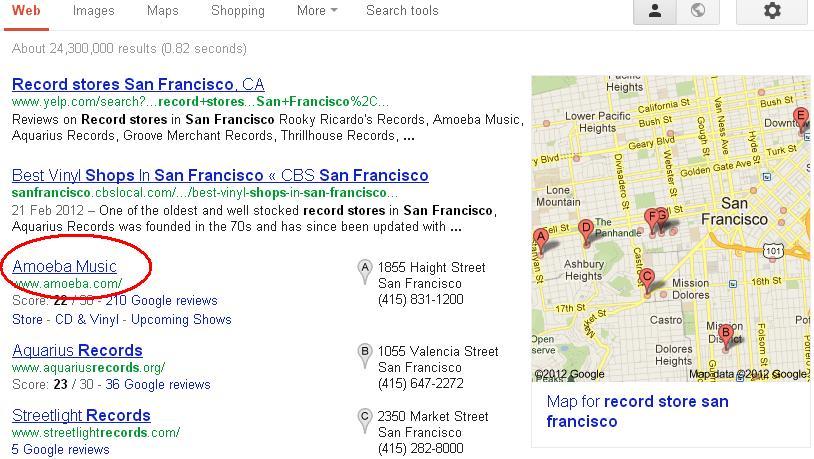 جستجو درون رستوران ها با گوگل