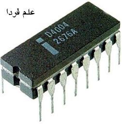 اولین پردازنده شرکت اینتل ، 4004