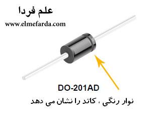 دیتاشیت فارسی دیود 1N5400 - 1N5408