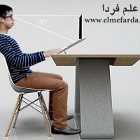 میز ارگانومیک برای لپ تاپ