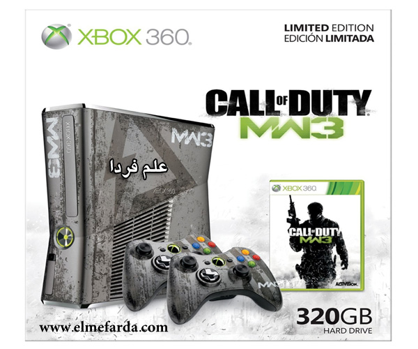 باندل ایکس باکس 360 اسلیم طرح Call of duty
