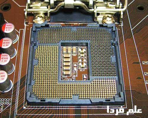 سوکت LGA 1156 اینتل