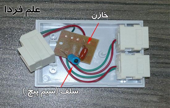 قطعات داخلی اسپلیتر – خازن و سلف درون اسپلیتر