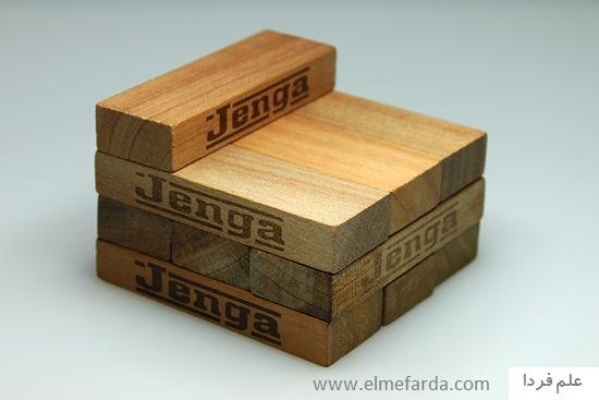 طرز جدین بلوک های چوبی برج جنگا Jenga