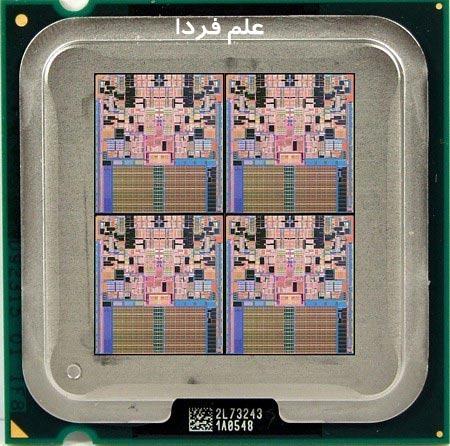 هسته های یک پردازنده