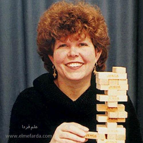 خانم leslie scott مخترع بازی جنگا Jenga