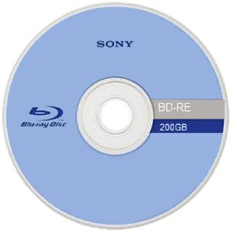 نمونه ای از دیسک بلوری شرکت سونی