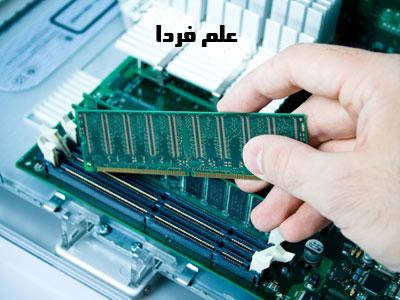 ماژول یا استیک RAM رم قبل از نصب روی اسلات