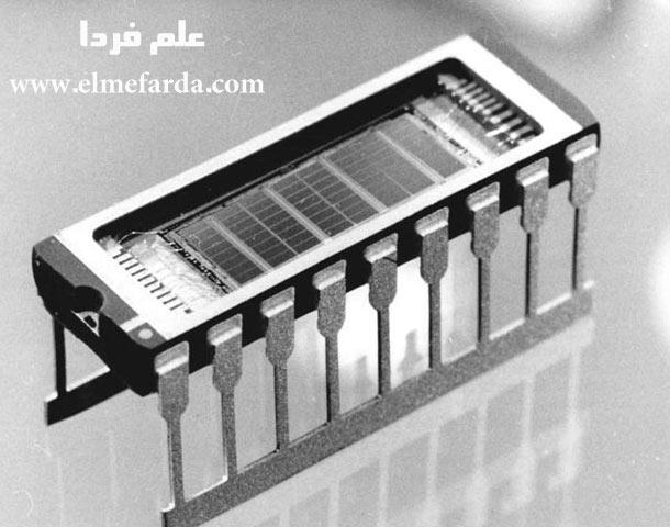 نمونه ای قدیمی از Main memory - چیپ 1 مگابایت