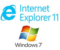 اینترنت اکسپلورر 11 برای ویندوز 7