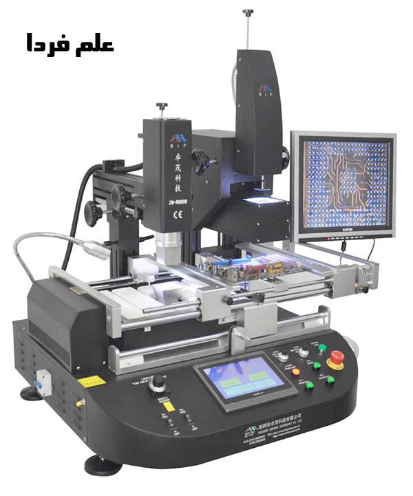 دستگاه BGA برای تعویض یا ارتقاء گرافیک لپ تاپ