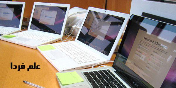 نمایشگر لپ تاپ از نوع براق