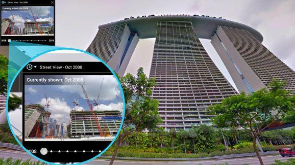 ماشین زمان گوگل - قابلیت جدید Google Maps