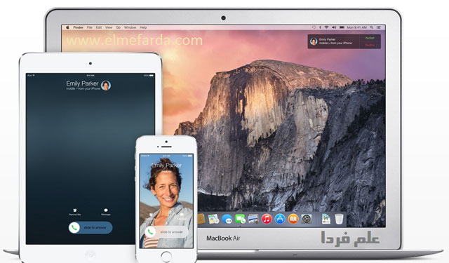 Continuity رابط بین دستگاه های مختلف اپل