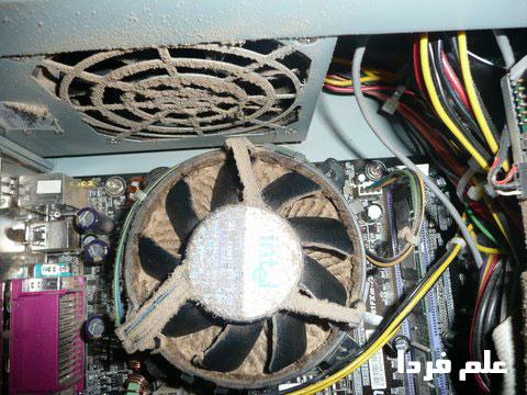 گرد و خاک کامپیوتر