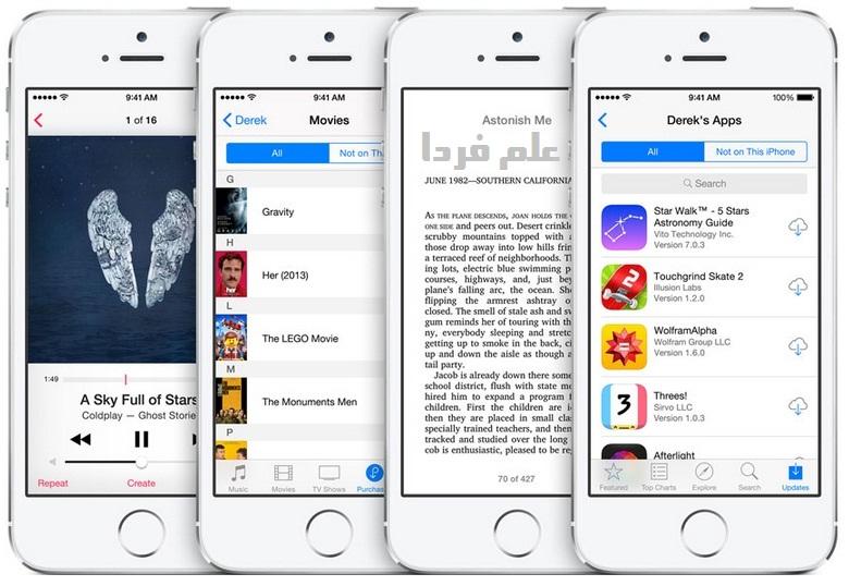 ویژگی Family Sharing در iOS 8