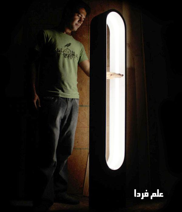 کنترل نور با سنسور تشخیص حرکت